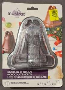 Lot de 6 moules cloches en chocolat Mastrad - Franqueville-Saint-Pierre (76)