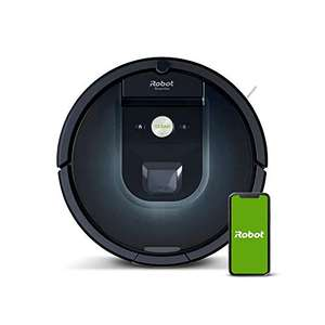 Aspirateur robot, iRobot Roomba 981, connecté en WiFi et programmable via application