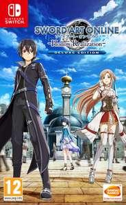 Sélection de jeu Bandai Namco sur Nintendo Switch en promotion - Ex : Sword Art Online Hollow Realization Deluxe Edition (Dématérialisé)