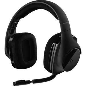 Casque-micro Gamer sans fil Logitech G533 - Surround 7.1, DTS Headphone:X