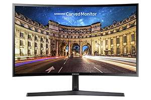 "Ecran PC 24"" Samsung incurvé C24F396FHR - Full HD, Dalle VA, 60 Hz, 4 ms, FreeSync"