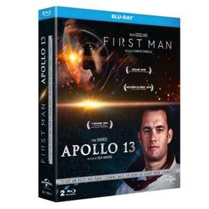 Coffret Blu-ray - First man et Apollo 13