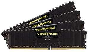 Kit Mémoire DDR4 Corsair Vengeance 32Go (4x8Go) - DDR4, 3200MHz, C16, XMP 2.0