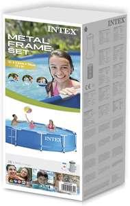 Sélection de piscines Hors Sol en promotion - Ex: Piscine tubulaire Intex Metal Frame (3.66x0.76m) - Muret (31)