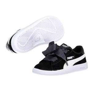 Paire de chaussures Puma Smash V2 Ribbon Ac - Taille 25 à 27 (Vendeur Tiers)
