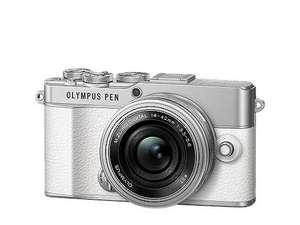 Appareil Photo Olympus PEN E-P7 + Objectif 14-42 pancake + 75mm f/1.8