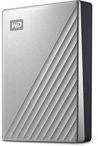 Disque dur externe Western Digital USB-C My Passport Ultra pour Mac - 5 To, argenté