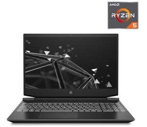 "PC Portable 15.6"" HP Pavilion Gaming 15-ec2008ns- Full HD, Ryzen 5 5600H, 8 Go RAM, SSD 256 Go, GeForce GTX 1650 4 Go, Sans OS, QWERTY ES"
