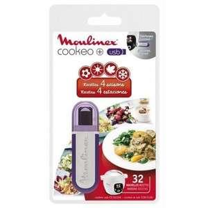 Clé USB pour Moulinex Cookeo CE702100 et CE853100 - 25 recettes supplémentaires (frais de port inclus)