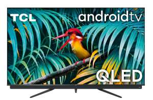 "TV QLED 55"" TCL 55C811 - 4K, HDR, Android TV, barre de son 2.1 Onkyo"