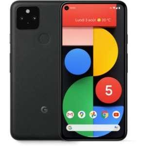 "Smartphone 6"" Google Pixel 5 - 8 Go de Ram, 128 Go, 5G (Via Retrait magasin)"