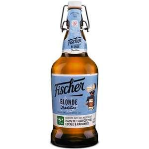 3 Bouteilles de Bière Fischer - 3 x 0.65Cl
