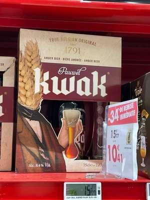 Coffret 2 verres Kwak +1 bouteille de 75 cl - La Ciotat (13)