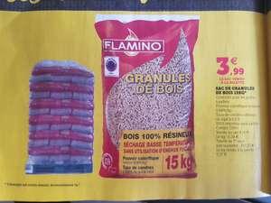 Palette de 77 Sacs de granulés Flamino Din+