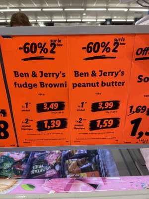 Lot de 2 pots de glace Ben & Jerry's Fudge Brownie - Villeneuve d'Ascq (59)
