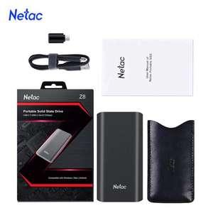 Sélection de SSD externes Netac en promotion - Ex : Z8 mSATA - 500 Go à 22.86€ & 1 To à 66.80€