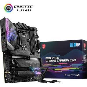 Carte mère MSI MPG Z590 Gaming Carbon WiFi - Intel Z590 (Via ODR de 45€)
