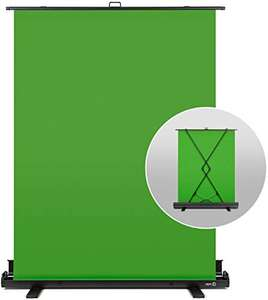 Fond vert rétractable Elgato Green Screen (148 x 180 cm)