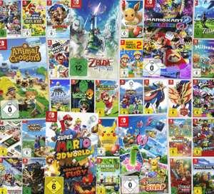 3 jeux Nintendo Switch parmi une sélection pour 111€ - 101€ avec le code NEWSLETTER (Frontaliers Allemagne)