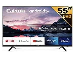 """TV 55"""" Caixun EC55S1A - 4K, Android 9.0, HDR 10, Triple Tuner (Vendeur Tiers)"""