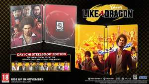 Yakuza: Like a Dragon Day Ichi Steelbook Edition sur Xbox One