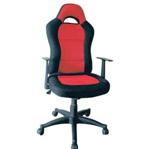 Fauteuil de bureau C600 - Noir/rouge