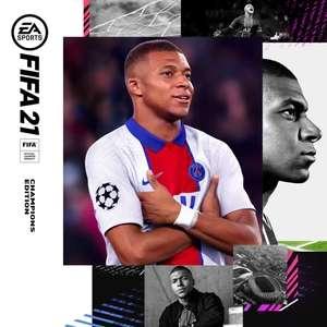 Jeu FIFA 21 Édition Champions sur PS4 et PS5 (Dématérialisé)