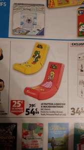 Fauteuil à bascule X-Rocker Nintendo Super Mario