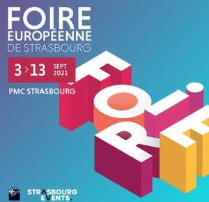Entrée gratuite à la Foire Européenne de Strasbourg (67) - anixy.com