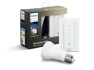 Sélection de produits Philips Hue en Promotion - Ex : Kit Ampoule E27 White + Télécommande Dimmer