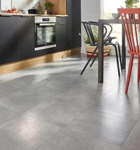 Sélection de carrelages et parquets en promotion - Ex : Carrelage sol gris clair Potosi 42.6 x 42.6 cm (le m2)