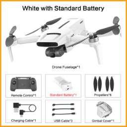 Drone quadricoptère RTF Fimi X8 Mini - GPS, 4K UHD 250G, Stabilisation 3 axes (Entrepôt France)