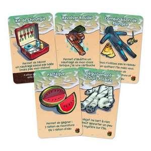 5 cartes gratuites pour le jeu Galerapagos (Frais de port inclus)