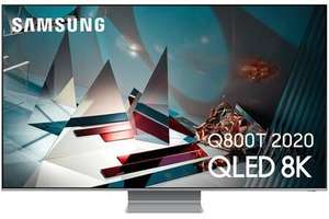 "TV QLED & Full LED 65"" Samsung QE65Q800T - 8K, 100 Hz, Quantum HDR 2000, FreeSync Premium, HDMI 2.1, Smart TV (Frontaliers Luxembourg)"