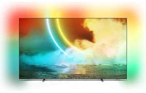 """TV OLED 55"""" Philips 55OLED705 (2021) - 4K UHD, 100 Hz, HDR 10+, Dolby Vision, Android TV, Ambilight (Frontaliers Luxembourg)"""