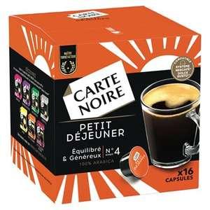 Paquet de 16 Capsules Café Carte Noire compatible Dolce Gusto