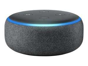 Assistant vocal Amazon Echo Dot 3 - Noir, Alexa, Tissu anthracite (34.99€ avec RAKUTEN5 - Vendeur Boulanger)