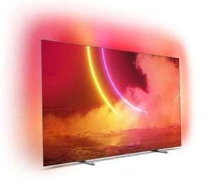 """TV 65"""" Philips 65OLED805 - 4K UHD, OLED, Smart TV, Ambilight 3 côtés"""
