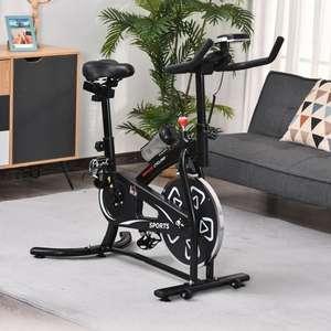 Vélo d'appartement cardio vélo Biking Homcom (A91-094BK) - Noir (via code de promo)