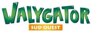 Entrée gratuite pour les enfants de 4 à 14 ans au Parc Walygator Sud Ouest / Dimanche 19 Septembre 2021 - Roquefort (47)