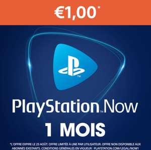 [Non abonnés] Abonnement de 1 Mois à PlayStation Now (Dématérialisé)