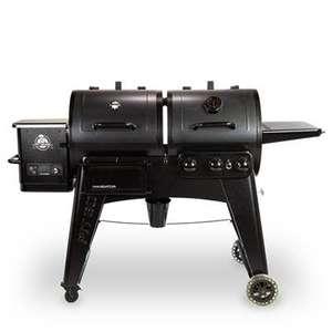 Barbecue combo Pellets et Gaz Navigator PB1230 (barbecue-france.fr)