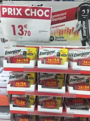 Pack de 28 piles Energizer Max AAA - Vénissieux (69)