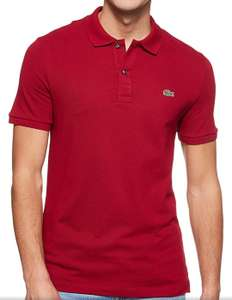 Polo Lacoste Homme, couleur rouge (Taille S)