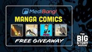 Bundle 4 Manga Comics gratuits en PDF & EPUB (Dématérialisés - Anglais)