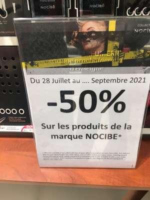 50% de réduction sur la gamme Nocibe - La Riche (37)