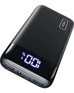 Batterie externe Iniu - 20000 mAh, USB C, trois sorties (vendeur tiers)