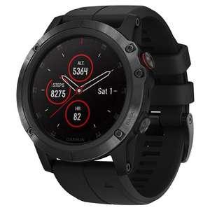 Montre connectée GPS Fenix 5X Plus Sapphire (ordgunbicycles.fr)