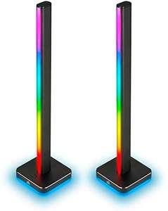 Lot de 2 tours d'éclairages Corsair iCUE LT100 - RGB, 422 x 95 x 95 mm
