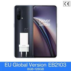 "Smartphone 6.43"" OnePlus Nord CE - 5G, Full HD+ 90 Hz, Snapdragon 750G, RAM 8 Go, 128 Go (Entrepôt France)"